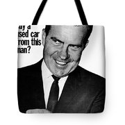 Anti-nixon Poster, 1960 - To License For Professional Use Visit Granger.com Tote Bag