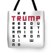 Anti Trump Art Impeach President Resist Putin Light Tote Bag