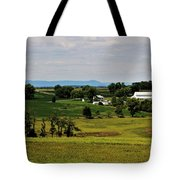Antietam Battlefield And Mumma Farm Tote Bag