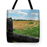 Antietam Farm Fence 2 Tote Bag