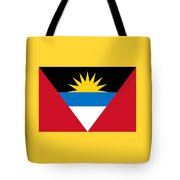 Antigua And Barbuda Flag Tote Bag
