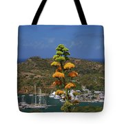 Antigua National Flower  Tote Bag