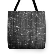 Antineutron, Bubble Chamber Event Tote Bag