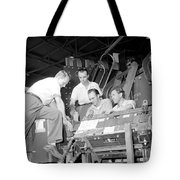 Antineutron Discovery Team, 1956 Tote Bag