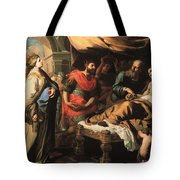 Antiochus And Stratonike Tote Bag