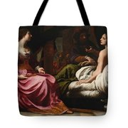 Antiochus Prince Of Syria And Stratonice His Stepmother Tote Bag