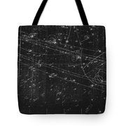 Antiproton Annihilation, Bubble Chamber Tote Bag