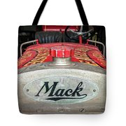 Antique 1930 Mack Bc-cd Fire Truck Tote Bag
