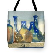 Antique Bottles Tote Bag