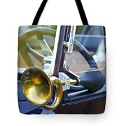 Antique Brass Car Horn Tote Bag