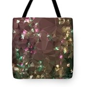 Antique Bronze Abstract Low Polygon Background Tote Bag