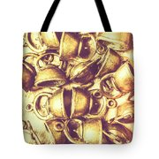 Antique Cafe Composition Tote Bag