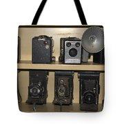 Antique Cameras Tote Bag