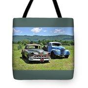 Antique Cars  Tote Bag
