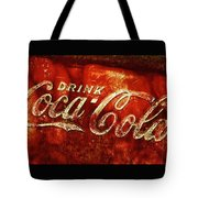 Antique Coca-cola Cooler II Tote Bag