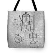 Antique Coffee Percolator Patent Tote Bag