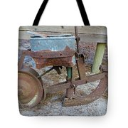 Antique Corn Planter Tote Bag
