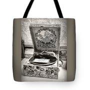 Antique Decca Gramophone By Kaye Menner Tote Bag
