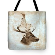 Antique Deer Tote Bag