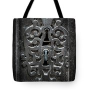 Antique Door Lock Tote Bag
