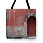 Antique Facade Tote Bag