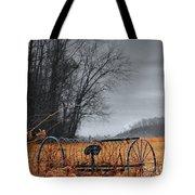 Antique Farm Equipment Tote Bag