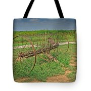 Antique Farm Rake Tote Bag