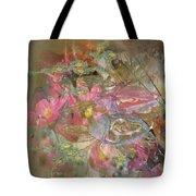 Antique Flowers Tote Bag