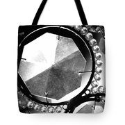 Antique Glass Chandelier Tote Bag