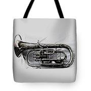 Antique Instrument  Tote Bag