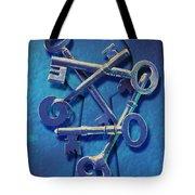 Antique Keys Tote Bag