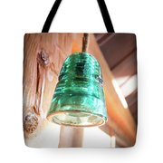 Antique Light Fixture 2 Tote Bag
