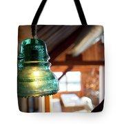 Antique Light Fixture 4 Tote Bag