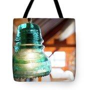 Antique Light Fixture 5 Tote Bag
