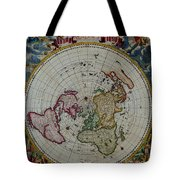 Antique Map Vintage Very Stylish Piece Tote Bag