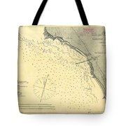Antique Maps - Old Cartographic Maps - Antique Map Of Lompoc Landing, California, 1888 Tote Bag
