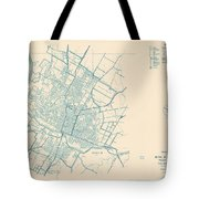 Antique Maps - Old Cartographic Maps - Antique Map Of Travis County, Texas, 1936 Tote Bag