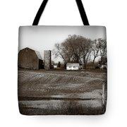Antique Michigan Farm Tote Bag