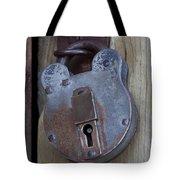 Antique Padlock 1 Tote Bag