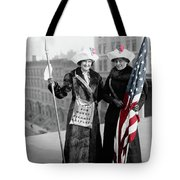 Antique Photo Of Two Women Tote Bag