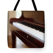Antique Piano Tote Bag