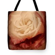 Antique Rose - In Full Bloom Tote Bag