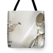 Antique Silver Collection Tote Bag