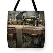 antique Singer Tote Bag