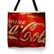Antique Soda Cooler 2a Tote Bag