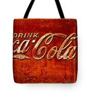 Antique Soda Cooler 3 Tote Bag