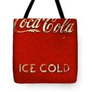 Antique Soda Cooler 6 Tote Bag