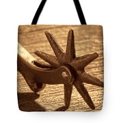 Antique Star Spur Tote Bag