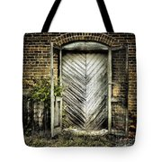 Antique Store Door Tote Bag