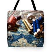 Antique Tapestry Repair  Tote Bag